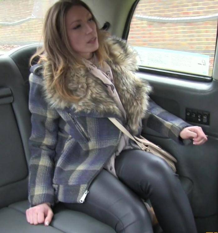 Sex in Taxi - Ava - Cash only or suck my cock  [FullHD 1080p]