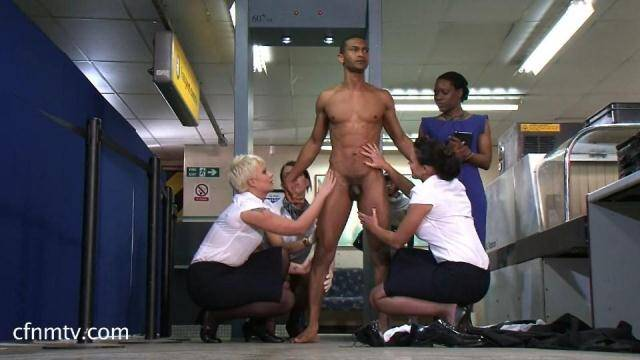 cfnmtv.com - Airport 2016 Part 2 - Group Domination [SD, 540p]