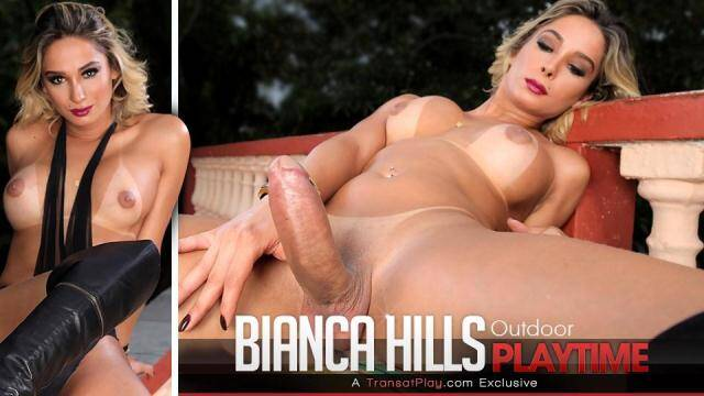 Trans 5OO - Bianca Hills - Outdoor Playtime [HD, 720p]