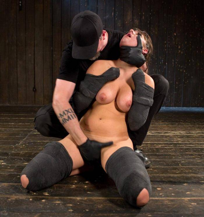 D3v1c3B0nd4g3.com/Kink.com - The Pope, Charlotte Cross - Big Tit Brat Gets Diabolic Discipline  [SD 540p]