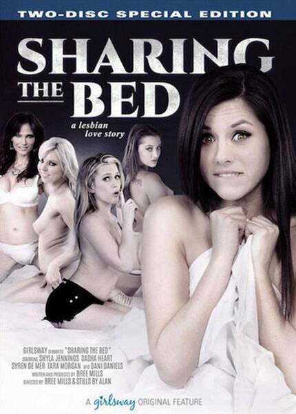 Sharing The Bed 2016 - Girlsway [SD, 540p, Split Scenes]