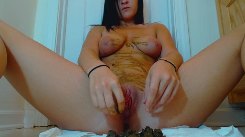 Jae - Shit Smearing and Dirty Finger Fucking [FullHD] - Scat Porn