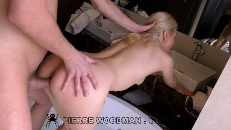 WoodmanCastingX.com: Nika Feel - Hard Anal Sex - My first DP with 2 men [SD] (237 MB)