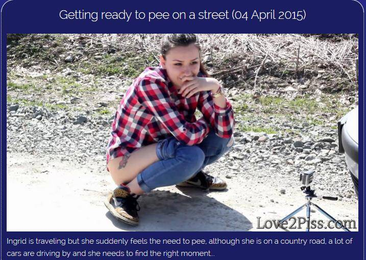 (Outdoor / MP4) Getting ready to pee on a street Love2piss.com - FullHD 1080p