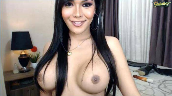 Chaturbate.com - Wildcat compilation of the best moments of broadcasts and cumshot! Hot Tranny!!! (Ladyboy) [SD, 480p]