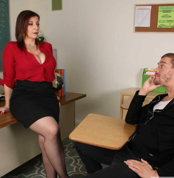 Sex Teacher - Sara Jay - MILF Porn  [HD 720p]