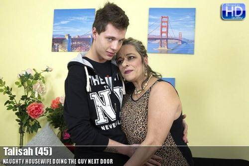 Talisah (45) - Hardcore With Young Boy! [SD, 540p] [Mature.nl] - Incest