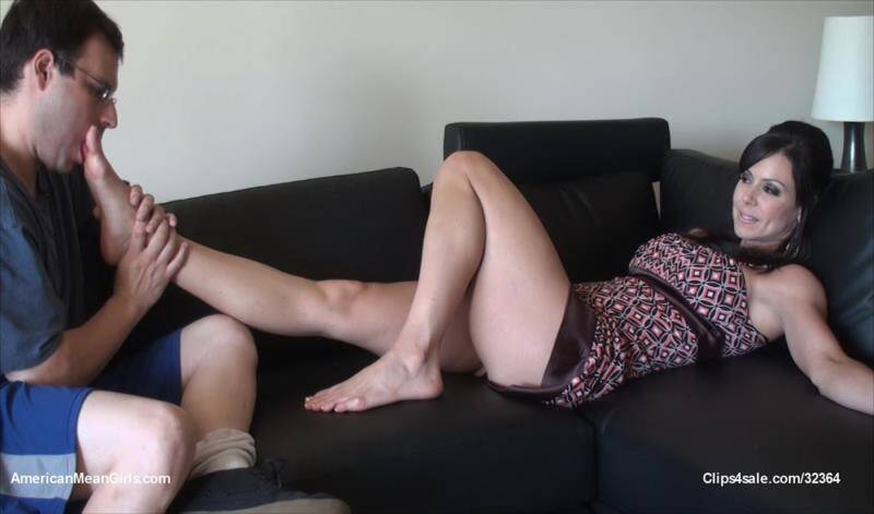 Clips4Sale - Kendra Lust - Kendra Lust Foot Worship [2014 FullHD]