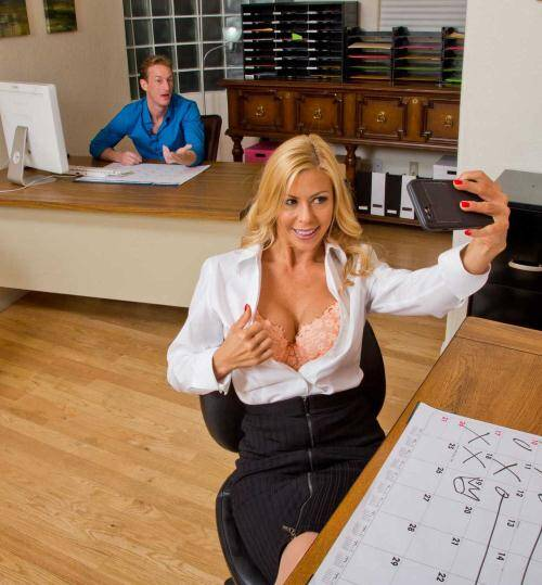 Office - Alexis Fawx [Big Tits Porn] (SD 480p)