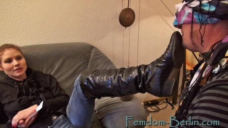Femdom-Berlin.com: Slave Birthday Part 1 [SD] (378 MB)