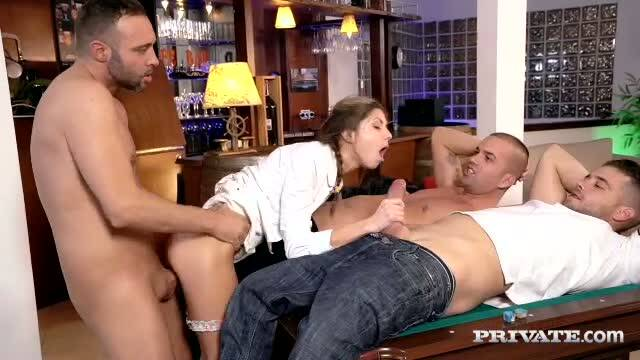 Private - Gina Gerson - Gina Gerson Gets Private Lesson On How To Gangbang [2016 SD]