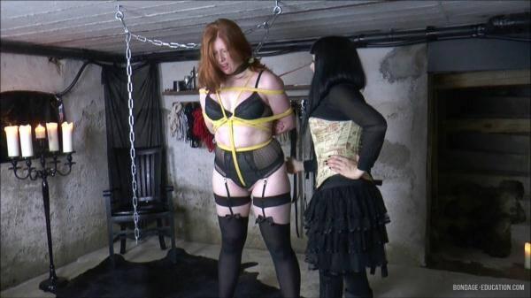 Mistress and her big slave! (BondageEducation.com) [HD, 720p]