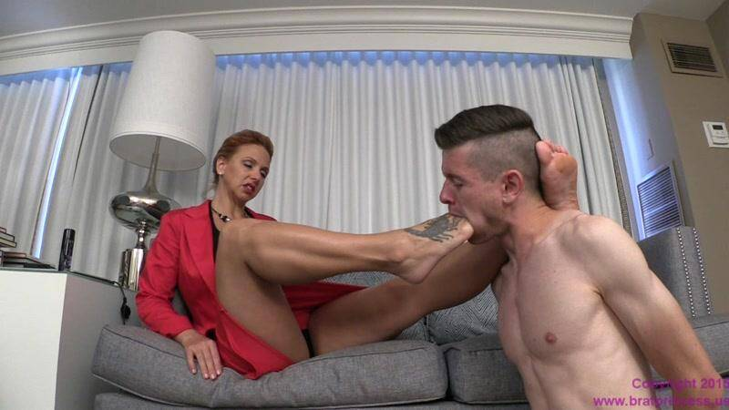 Brianna - Teaches Son To Kiss Feet And Obey Sibling Key Holder [HD] - BratPrincess, Clips4sale
