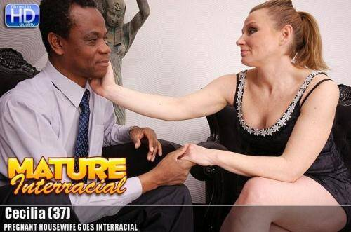 Cecilia (37) - Pregnant Housewife Goes Interracial [HD, 720p] [Mature.nl] - Pregnant
