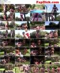 Eng Mansion - Mistresses - Poolside Riding  (Femdom) [HD, 720p]