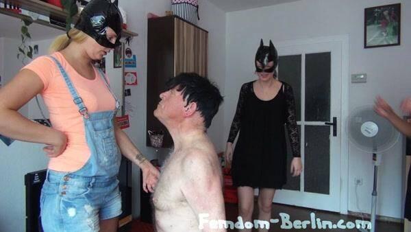 Femdom-Berlin.com - Scat Cats - Hot Shit forthe Slave Femdom - Part 2 - Foot Fetish! (Scat) [SD, 540p]