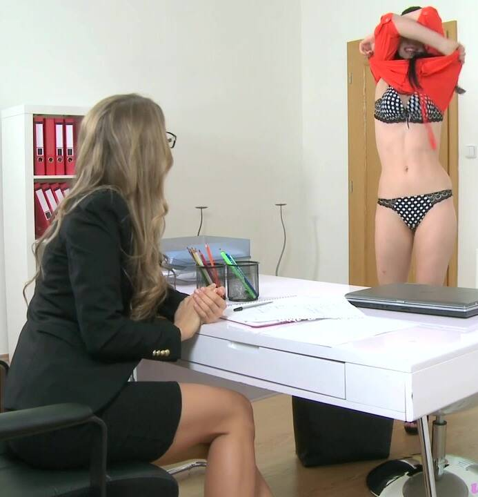 Female Casting - Whitney (Annie), Nessy - E337 Sexy new agents hot first casting  [HD 720p]
