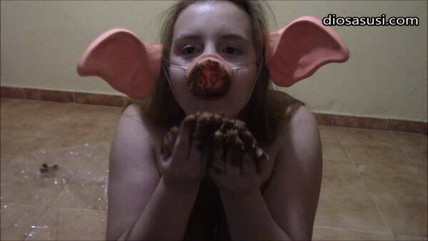 Slut piggy - Crazy Girl - Solo Scat! (FullHD 1080p)