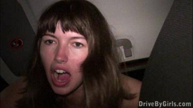 DriveByGirls.com/Sex in Car - A beauty and the beasts [SD, 480p]