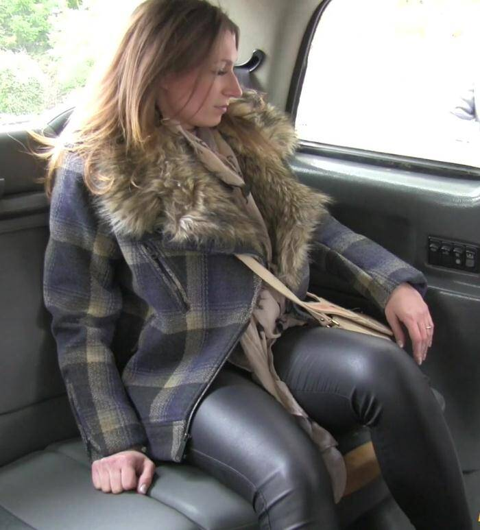 Sex in Taxi - Ava - Cash only or suck my cock  [HD 720p]