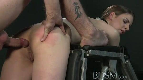 BDSM - Hard sex with bondage (Spanking) [SD, 360p]