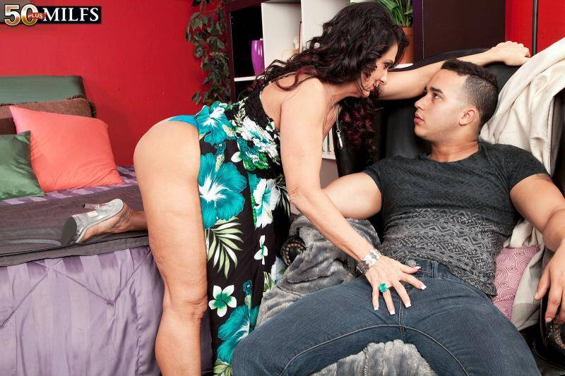 50PlusMilfs - Azure Dee - Azure Meeting With The Young Firm Member [2014 HD]