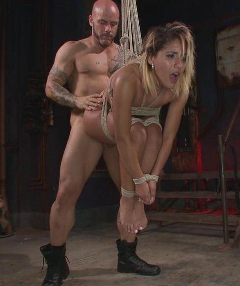 FuckedandBound.com - Liv Aguilera - Full Throttle Fucking and Torment (BDSM) [HD, 720p]