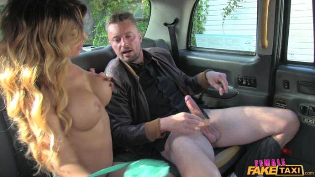 FemaleFakeTaxi - Elicia Messy - Facial For Busty Driver [FullHD 1080p]