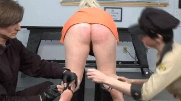 Whitney Morgan - Big Black Strap (Spanking) [SD, 480p]