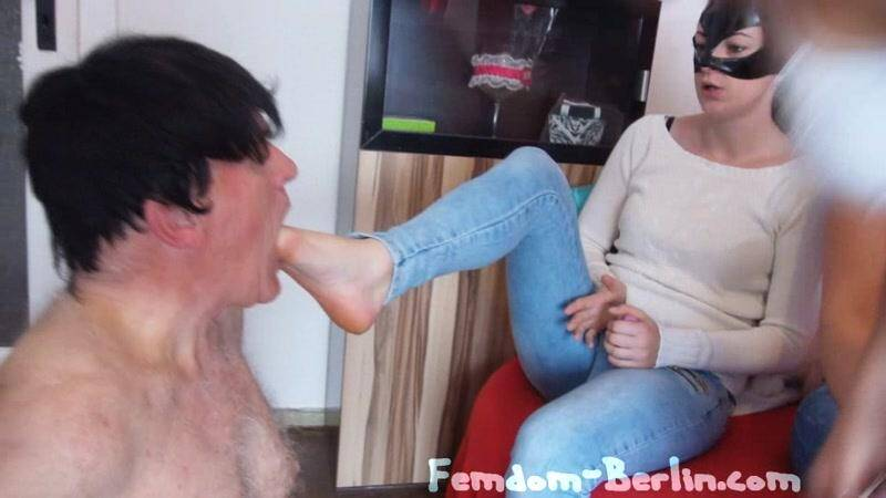 New Scatqueen Lucy Femdom - Part 2! Torture! [SD] - Femdom-Berlin