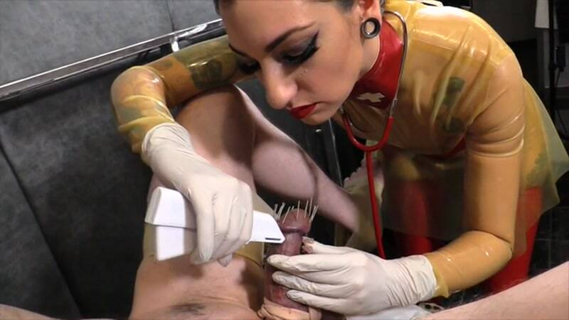 CybillTroy.com: Extreme Cock Piercing [SD] (329 MB)