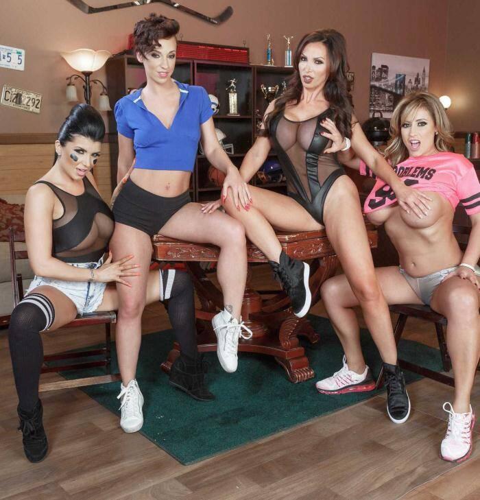 Pornstar Like - Eva Notty, Jada Stevens, Nikki Benz, Romi Rain, Charles Dera - Halftime Show  [SD 480p]