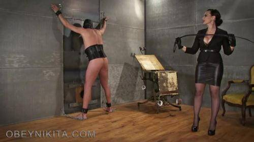 My New Whip! Hard Punishment my Slave! [FullHD, 1080p] [ObeyNikita.com] - Femdom