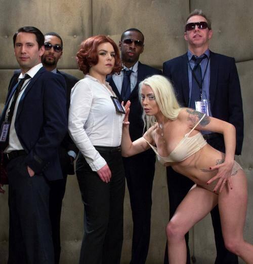 HardcoreGangBang.com/Kink.com - Karlo Karrera [Mulder Loves Scully: A Sci Fi Gangbang] (SD 540p)