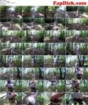 Pee attempts in the forest [FullHD, 1080p] [Love2Piss.com] - Pissing