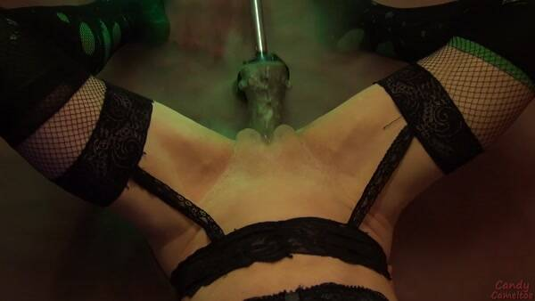 Candy Cameltoe - Sex Machine and Frankenstein [FullHD 1080p] [CandyCameltoe] - Amateur