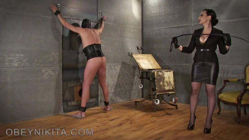 My New Whip! Hard Punishment my Slave! [FullHD] - ObeyNikita