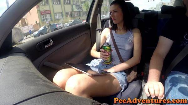 Peeing in the car and wetting the chair (PeeAdventures.com) [FullHD, 1080p]