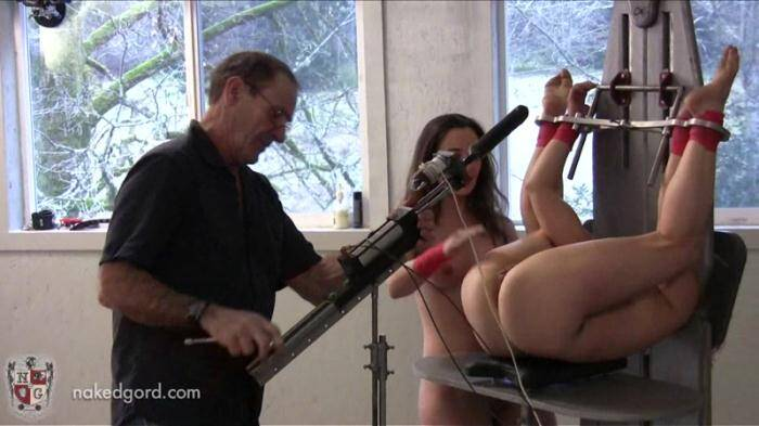 Nakedgord.com - Hard Masturbation with Bondage! (BDSM) [HD, 720p]