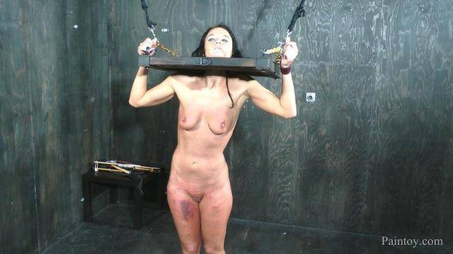 Paintoy.com - London River - Caned Like A Whore [FullHD, 1080p]