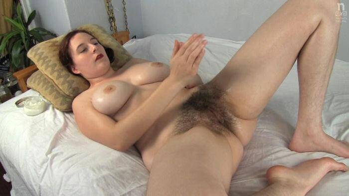 NaughtyNatural.com - All oiled up Eleanor Rose (Hairy) [FullHD, 1080p]