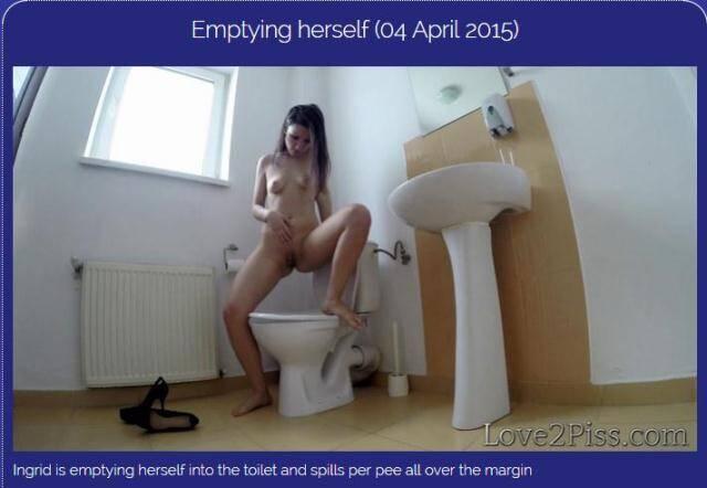 Love2piss.com - Emptying herself [FullHD, 1080p]