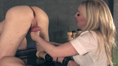 Prostate Millking Experiment [HD, 720p] [Eng Mansion] - Femdom