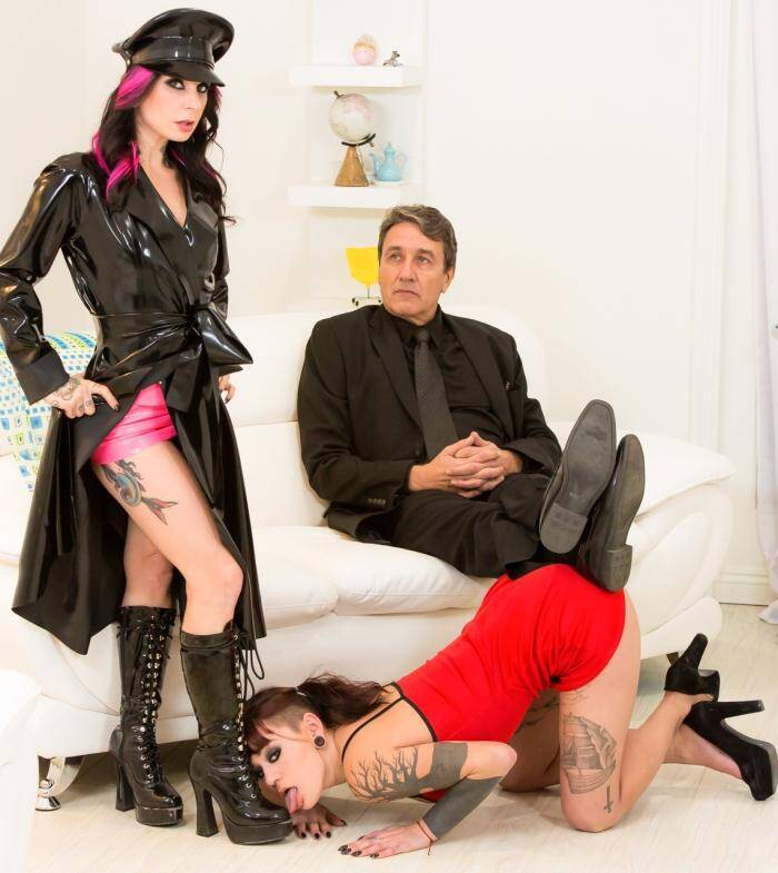 Burning - Joanna Angel, Amelia Dire - Read Scene Description  [HD 720p]
