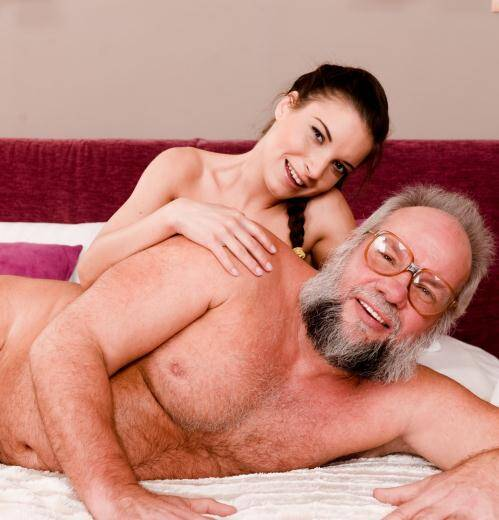 Grandpas Fuck Teens - Anita Bellini [Youngling Anita Keeps Grandpa in Shape] (FullHD 1080p)