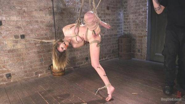 All Natural Girl Next Door is Destroyed in Brutal Bondage (Hogtied.com) [SD, 360p]