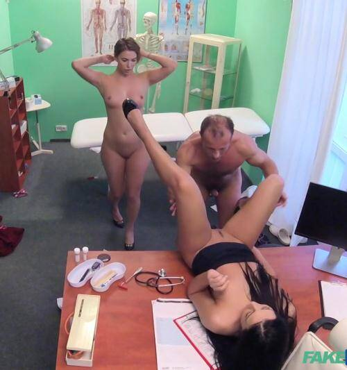 Hospital - Ani, Vanessa [Doctor is up for a sexy threesome] (FullHD 1080p)