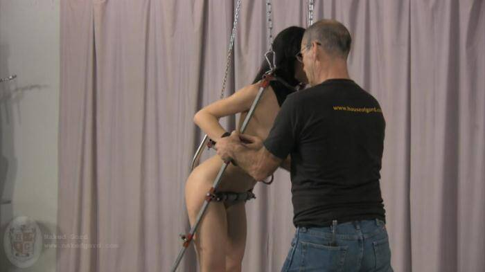 Nakedgord.com - Bondage Girl in Studio! (BDSM) [HD, 720p]