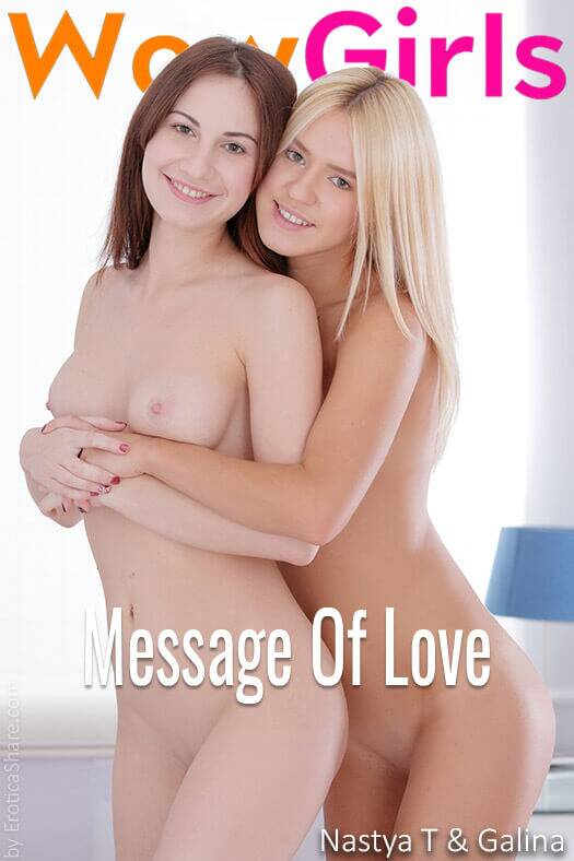 WowGirls - Nastya T, Galina - Message Of Love [FullHD 1080p]