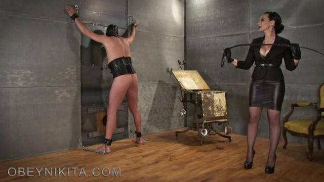 ObeyNikita.com - My New Whip! Hard Punishment my Slave! [FullHD, 1080p]